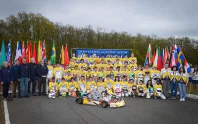 Nederlandse karttalenten tonen snelheid in CIK-FIA Karting Academy Trophy