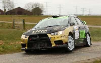 Rookie Rally Team bindt de strijd aan in België