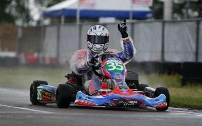 Joey Alders bewijst in Eindhoven overtuigend zijn snelheid: 'Supermooi, deze zege'
