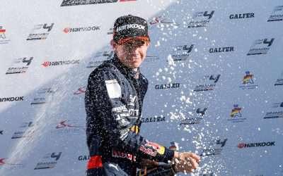 KTF-talent Richard Verschoor blijft met derde hattrick Spaans F4 kampioenschap domineren