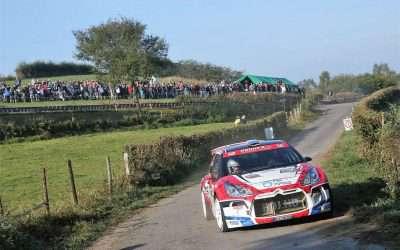 Solide en foutloos optreden in East Belgian Rally, Bob de Jong en Bjorn Degandt naar vijfde plaats in R5 klasse