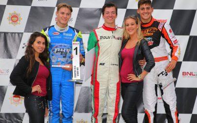 Rinus van Kalmthout wint beroep: officieel derde in BNL International Karting Series