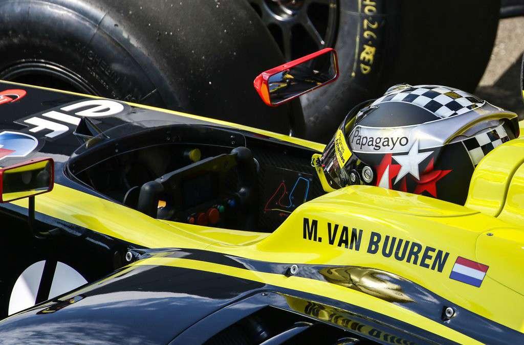 Meindert van Buuren Jr. niet beloond voor inspanningen op Red-Bull Ring