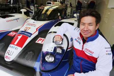 Kamui Kobayashi (JPN)   Toyota Racing TS040  Le Mans 24 Hours Test Day 29th-31st May 2015 Circuit de Le Mans, France.