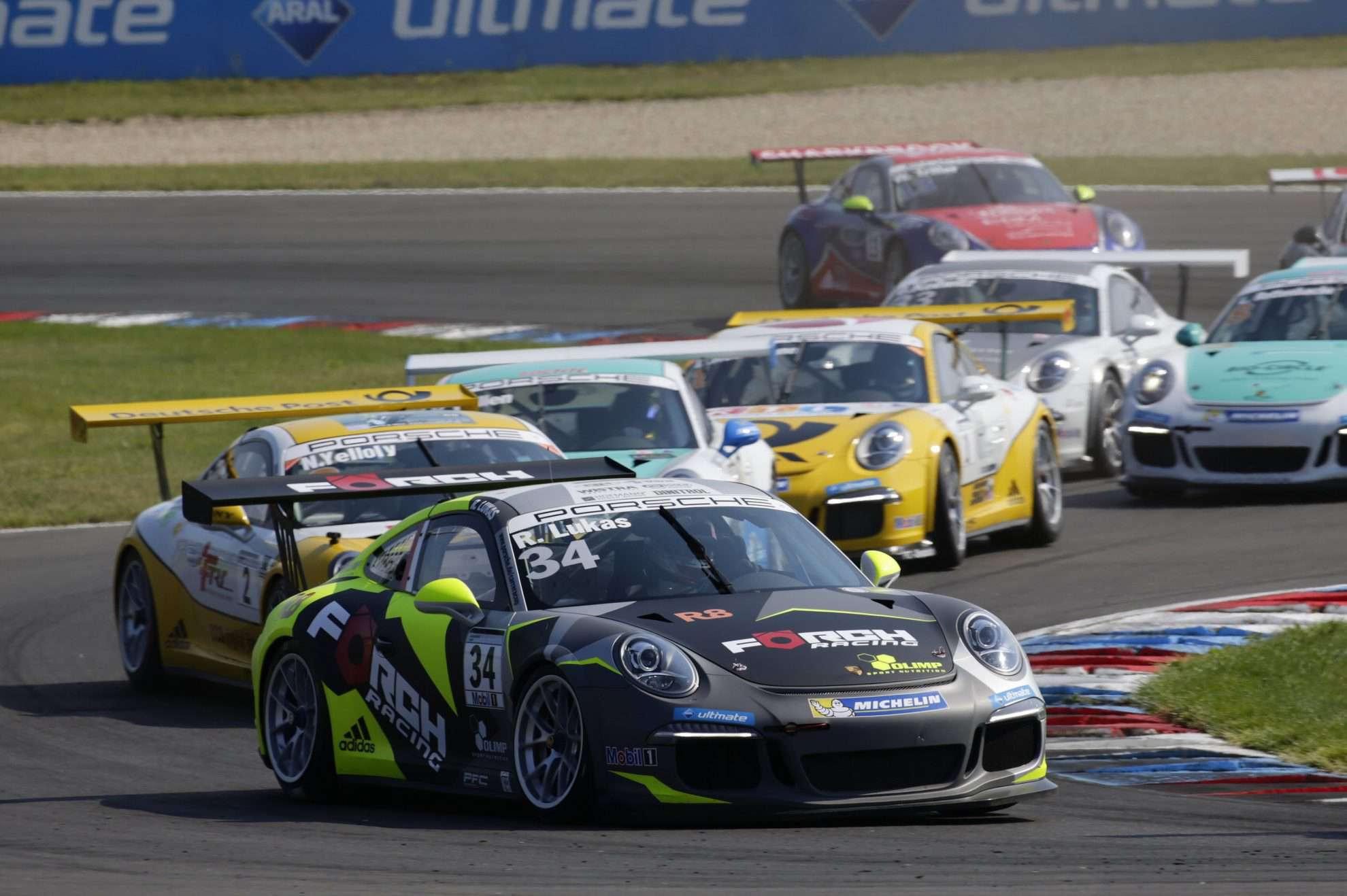 Robert Lukas (PL) Porsche Carrera Cup Deutschland - 04 Lausitzring 2016