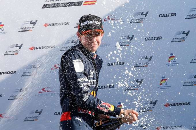 VALENCIA,SPAIN,24.SEP.16 - MOTORSPORTS, RED BULL JUNIOR TEAM - F4 Spain Championship. Image shows  Richard Verschoor (NED). Photo: GEPA/ Dutch Photo Agency - For editorial use only. Image is free of charge.