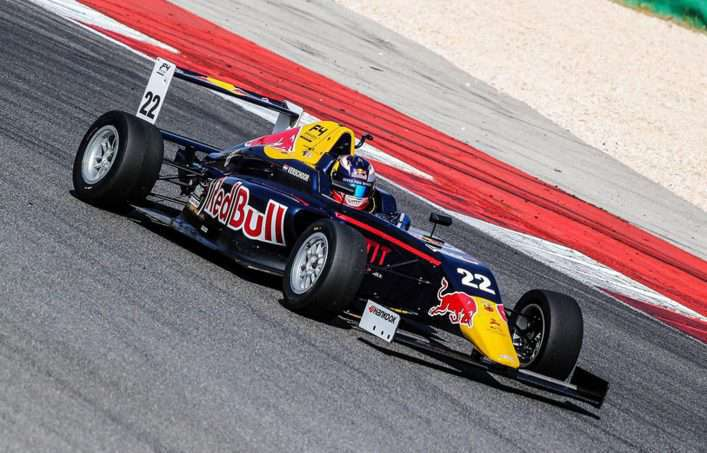 PORTIMAO,PORTUGAL,10.JUL.16 - MOTORSPORTS, RED BULL JUNIOR TEAM - Spanish F4 F4 Championship, Autodromo Internacional do Algarve. Image shows Richard Verschoor (NED). Photo: GEPA pictures/ Dutch Photo Agency - For editorial use only. Image is free of charge.