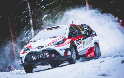 Toyota Yaris WRC wint de Rally van Zweden