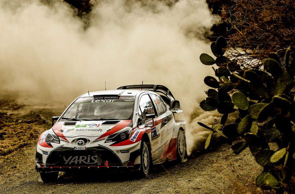 Toyota GAZOO Racing behoudt 2de plaats in WRC