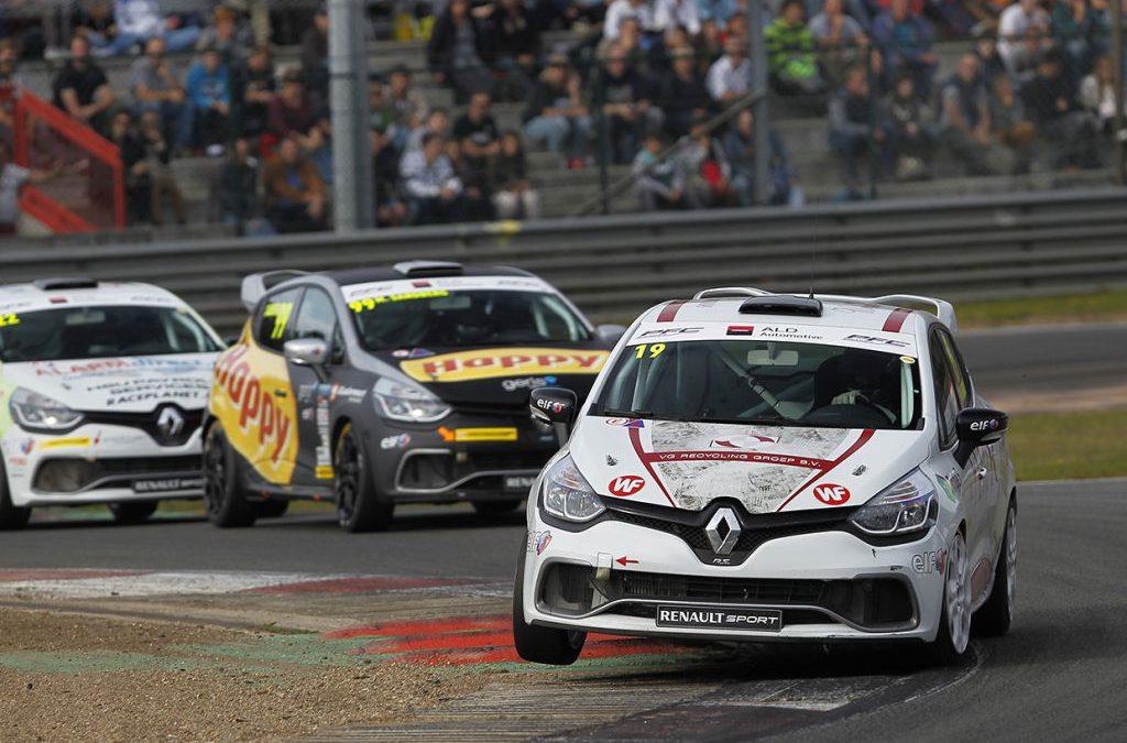 Sven Van Laere met Bas Koeten Racing aan de start in Renault Clio Cup Benelux