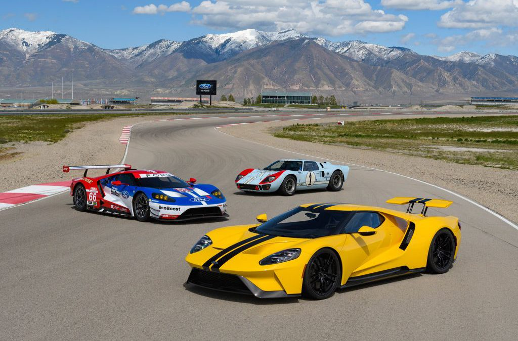 Ford GT Supercar; showcase van technologieën van morgen