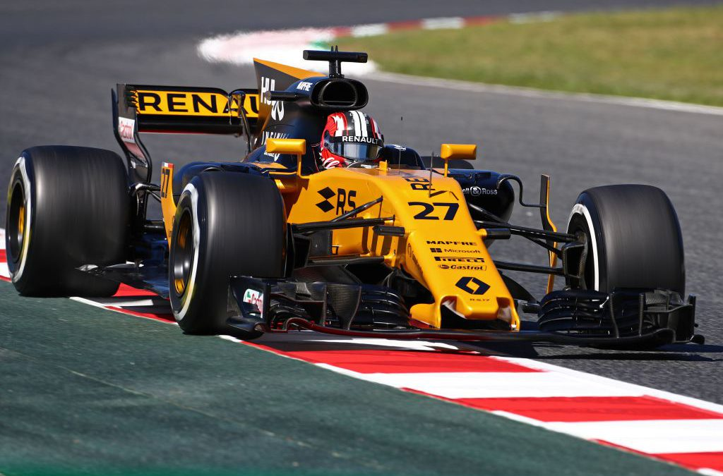 Renault Sport Formula One Team  naar GAMMA Racing Day  voor Formule 1-demonstratie