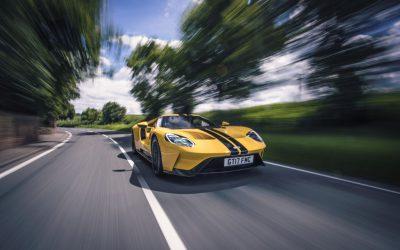 Ford GT; ultieme raceauto voor openbare weg met 25 computers, 50 sensoren… en 2 bekerhouders