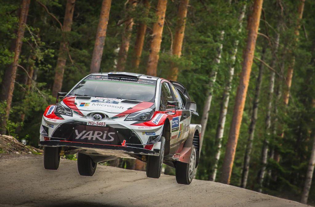 Toyota GAZOO Racing pakt goud en brons in Rally van Finland