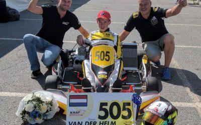 Tweede en vierde plaats voor Nederlandse karttalenten in CIK-FIA Karting Academy Trophy