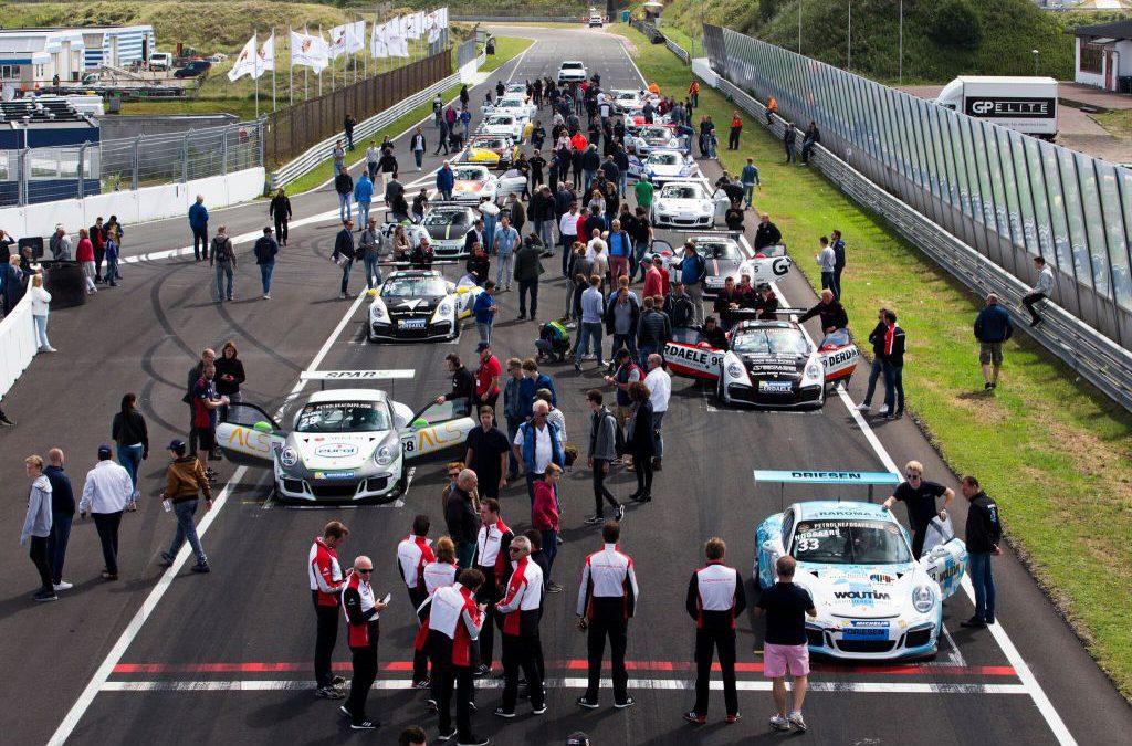 Spannend tot de laatste meters ROUND 4 Porsche Racing Days Zandvoort