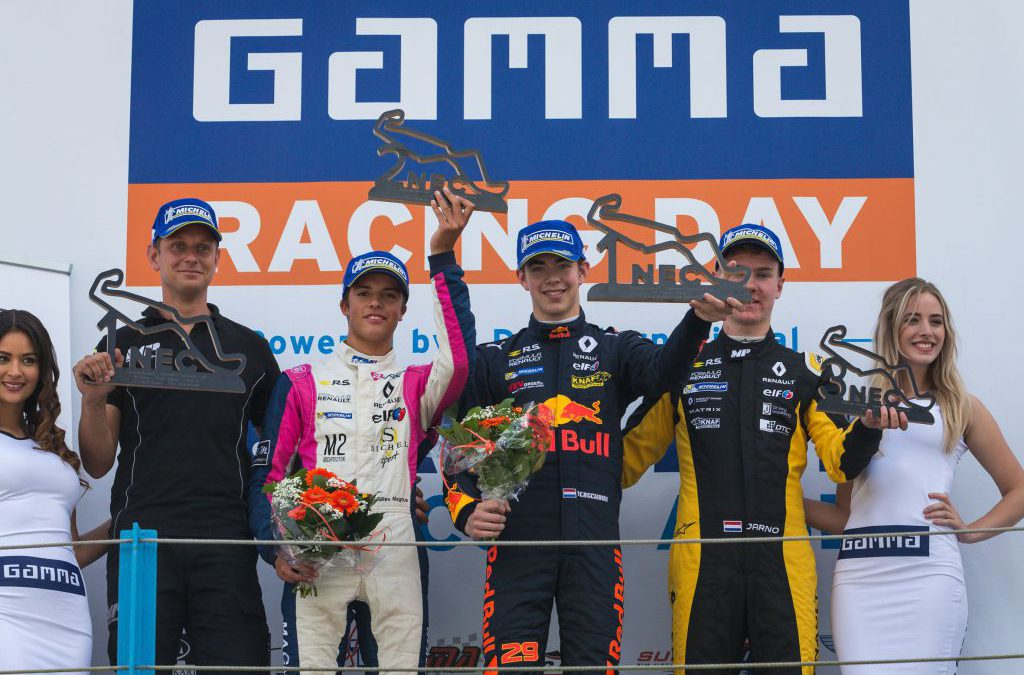 KTF-podium op TT Circuit Assen met winst voor Richard Verschoor en derde plaats voor Jarno Opmeer