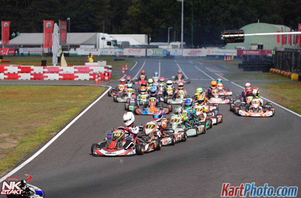Ontknoping Nederlands Kampioenschap karten, dit weekend in Genk (BE)