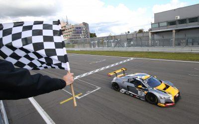 Robin Frijns and Stuart Leonard 2017 Blancpain GT Series Sprint Cup winners