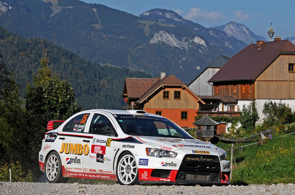 KTF-rallytalent Jim van den Heuvel wint TER Production Trophy in Rallye Liezen