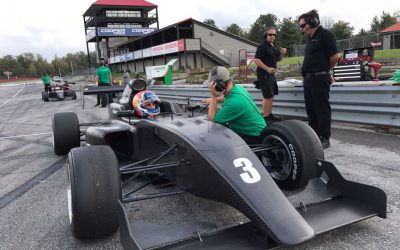 Rinus van Kalmthout in 2018 met Juncos Racing op jacht naar Pro Mazda-titel