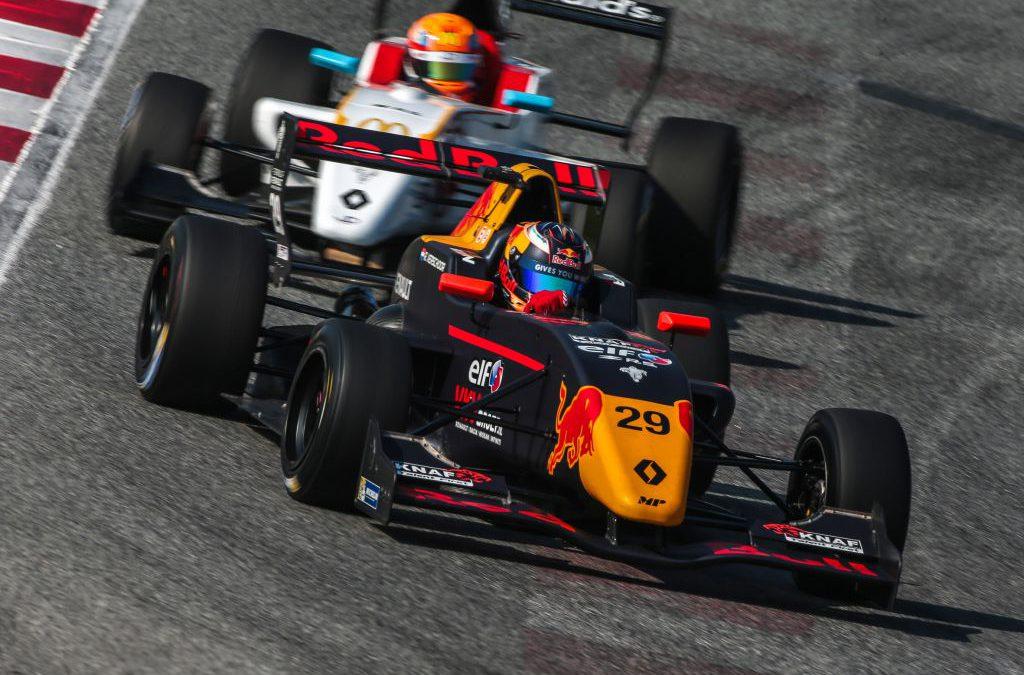 Podium en rookie-winst voor Richard Verschoor, top vijf voor Jarno Opmeer in Barcelona