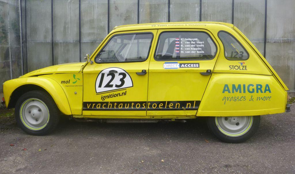 Westlandse  racer  wederom 24 uur op Spa Francorchamps