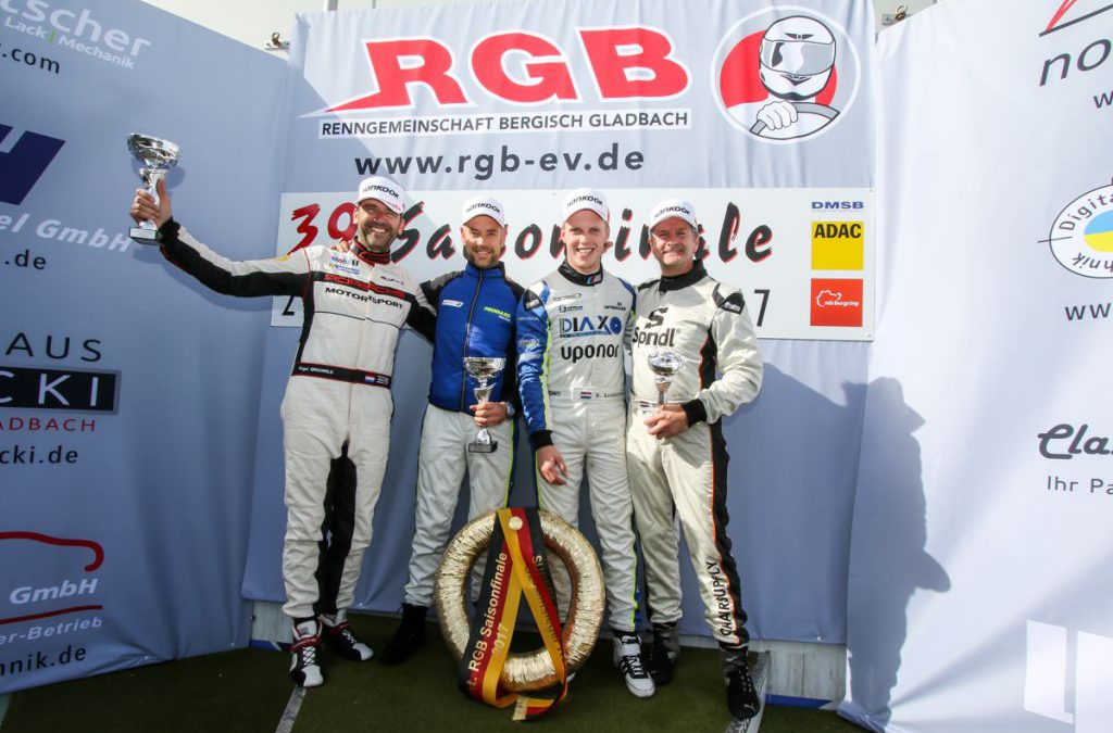 Ward Sluys blijft leider in Supercar Challenge