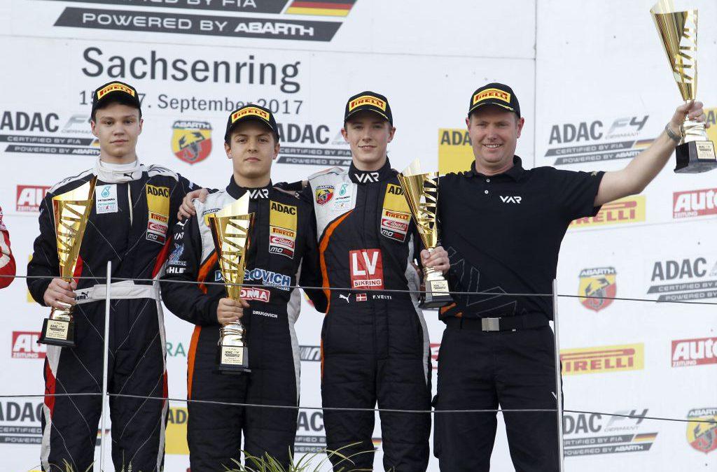 Frontrunning season for Van Amersfoort Racing in ADAC Formula 4