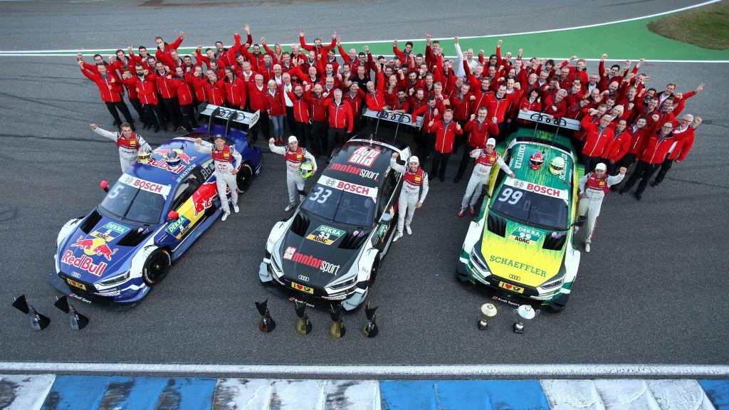 Perfecte 'triple': Audi pakt alle drie DTM-titels