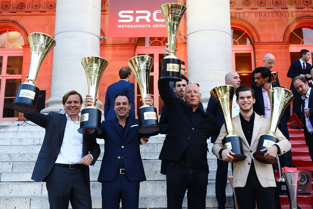 GT4 European Series Northern Cup winners celebrated at SRO Awards