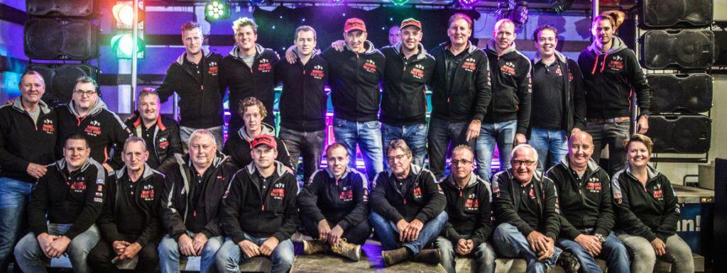 Mammoet Rallysport hoopt op beloning voor het collectief (video)