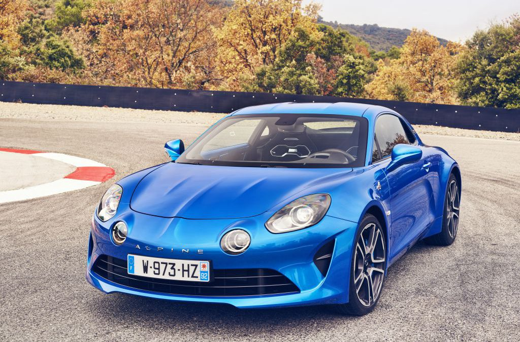 Introductiedossier Alpine A110 internationale media testdrives