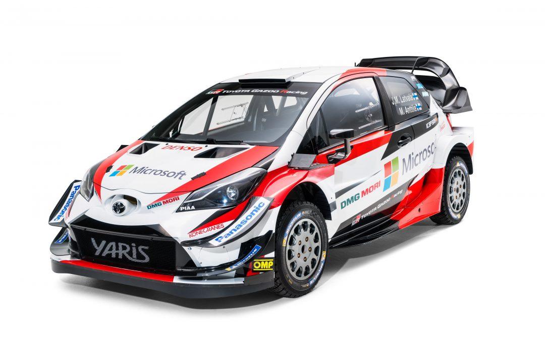 Toyota GAZOO Racing World Rally Team maakt zich op voor tweede WRC-seizoen