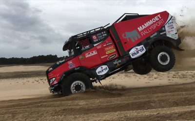 Mammoet Rallysport uit de Dakar Rally
