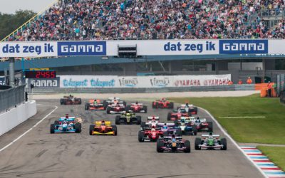 Formule 1-bolides BOSSGP naar GAMMA Racing Day