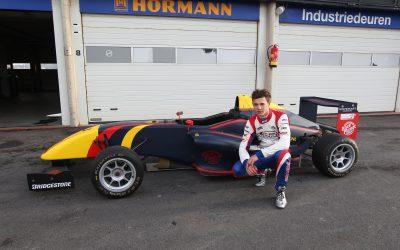 Kay van Berlo direct snel tijdens test Formule RP1