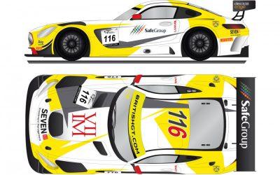 Yelmer met Mercedes-AMG GT3 in Brits GT-kampioenschap