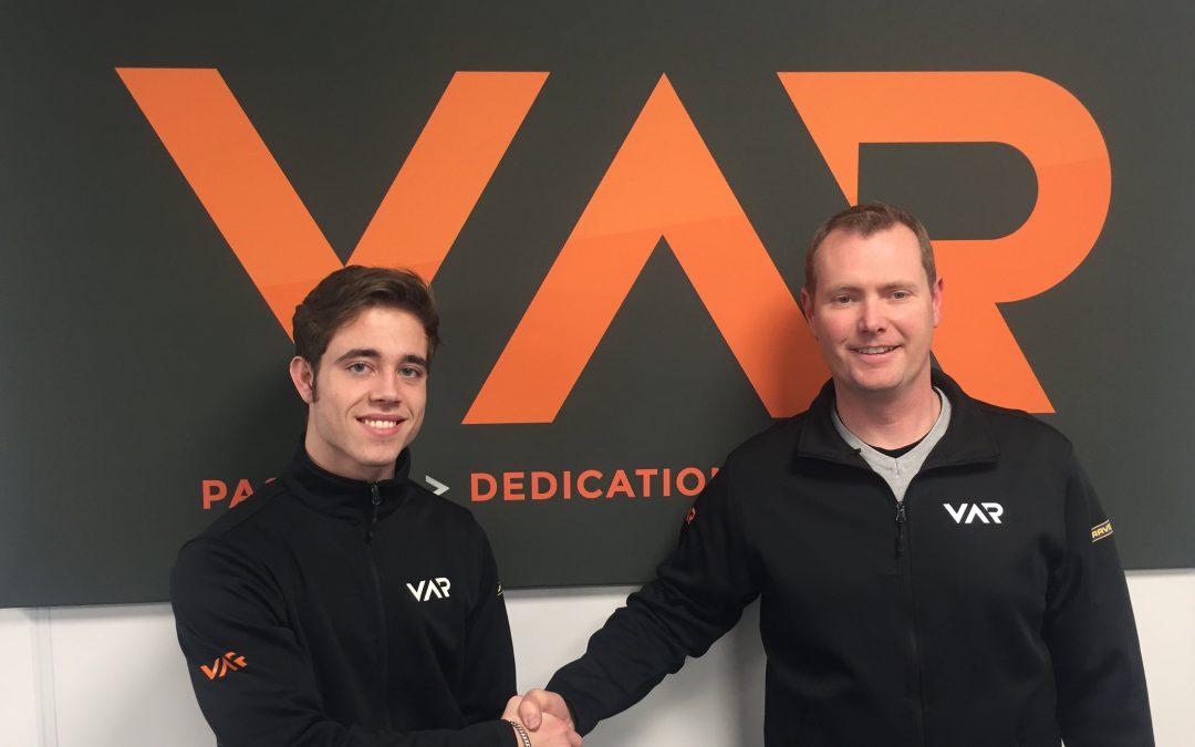 Joey Alders promoveert naar autosport met Van Amersfoort Racing