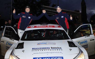 Bob de Jong met Hyundai i20 R5 op jacht naar titels.
