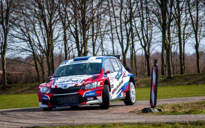 Derde plaats voor Van Loon tijdens ijskoude Zuiderzee Rally
