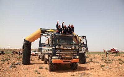Hamer Rally Team gaat 'op groen' in Morocco Desert Challenge
