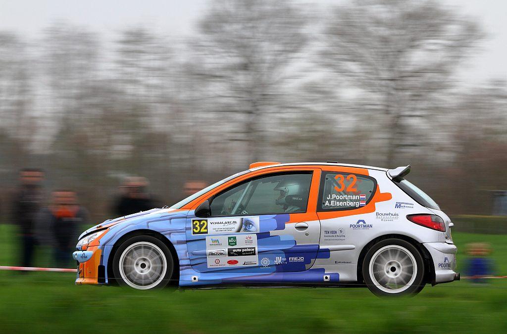 JM Rallysport ondanks uitval in Visual Art Rally toch tevreden over debuut