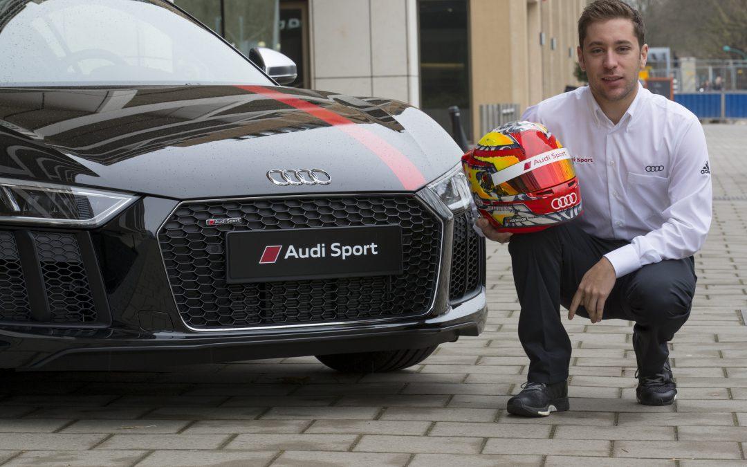 Nieuwkomer Robin Frijns maakt indruk in Audi RS 5 DTM