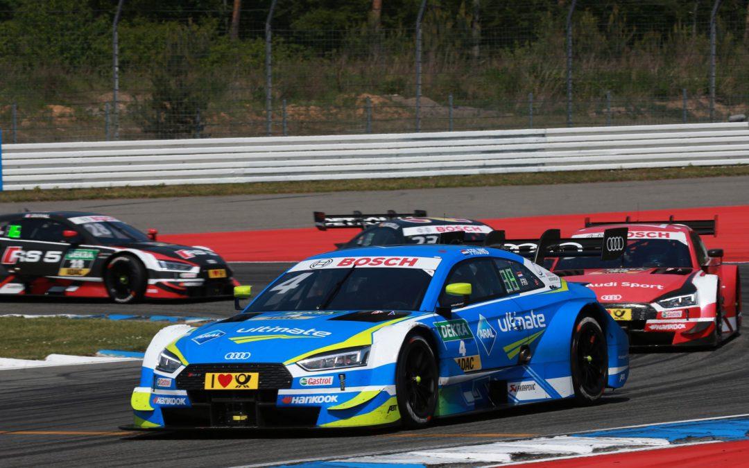 Eerste DTM-weekeinde voor Audi-coureur Robin Frijns