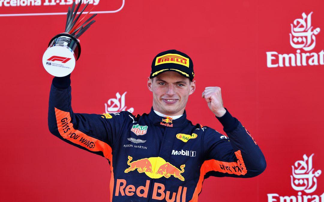 """Max Verstappen derde in Grand Prix van Spanje: """"Auto was erg goed"""""""
