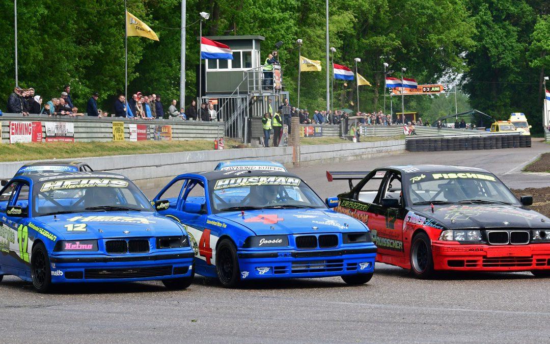 Derde serie ovalraces meetellend voor het Nederlandskampioenschap  in Ter Apel