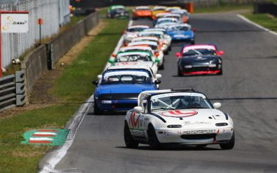 KIRÁLY WINT BEIDE RACES OP ZOLDER IN CONRAD MAZDA MAX5 CUP