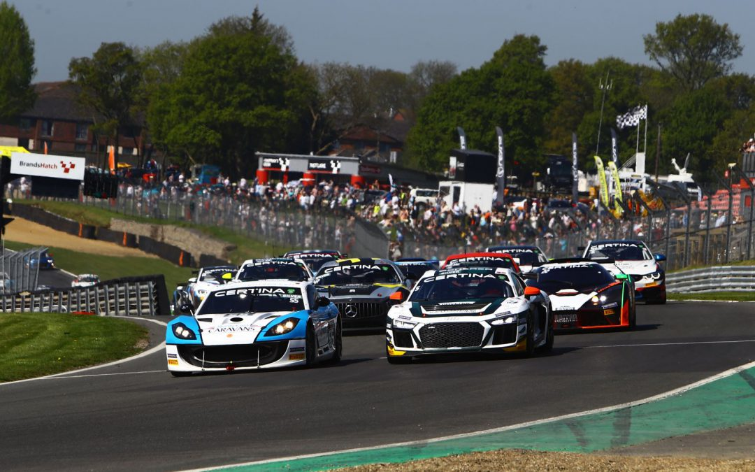 PHOENIX RACING AND HHC MOTORSPORT WIN AT BRANDS  HATCH