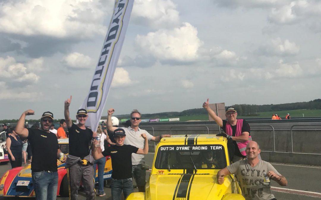 Dutch Dyane racing team naar het circuit van Magny Cours FR